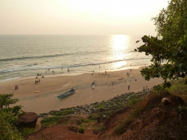 Varkala photos, Varkala Beach - During Dusk