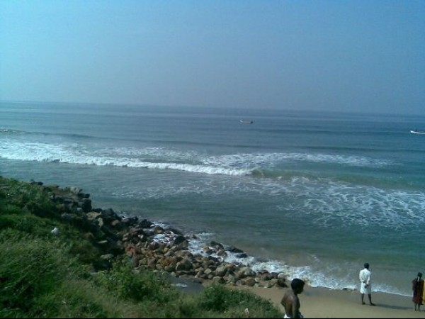 Varkala photos, Varkala Beach - Blue Waters