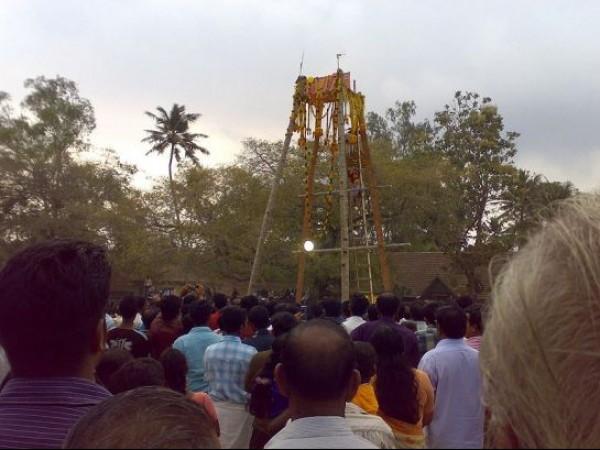 Varkala photos, Sarkara Devi Temple - Kaliyoot Festival