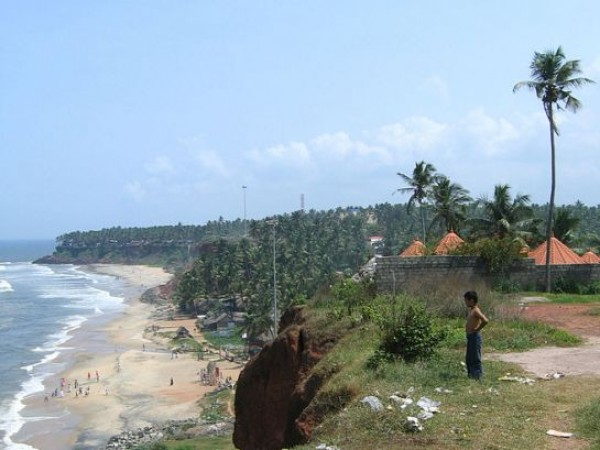 Varkala photos, Beach Waves
