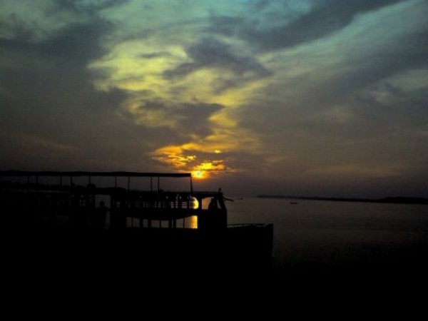 Kochi photos, Marine Drive - Fantastic view of Sunset