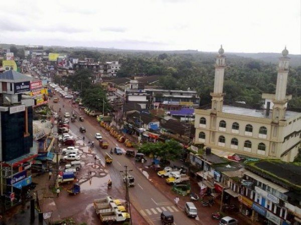 Kannur photos, Taliparamba - Aerial View