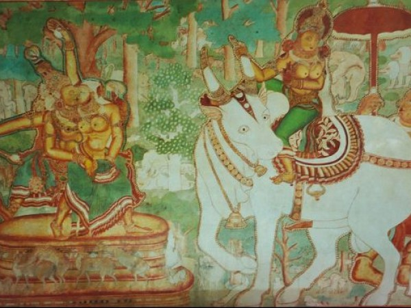 Kochi photos, Mattanchery Palace (Dutch Palace) - Image of a wall