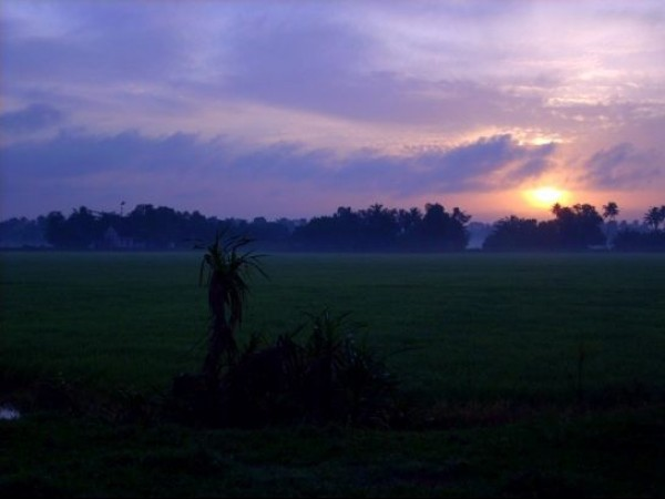 Alleppey photos, Sunrise
