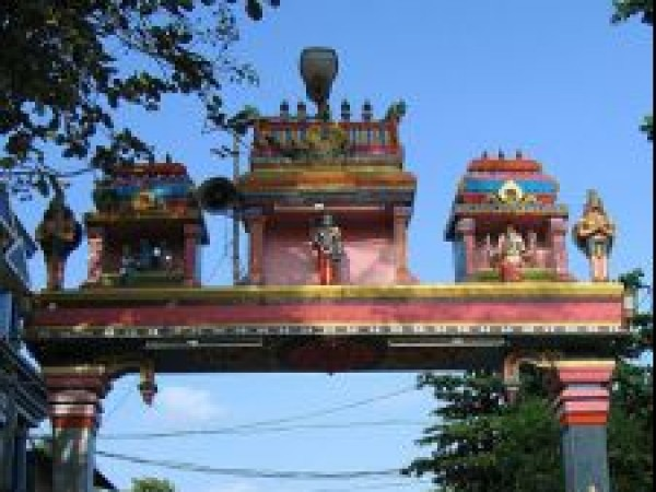 Alleppey photos, Ambalapuzha Sree Krishna Temple - Archway