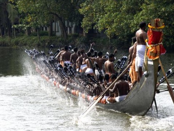 Alleppey photos, Boat race