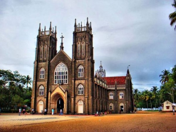 Alleppey photos, St. Andrews Church - Front View