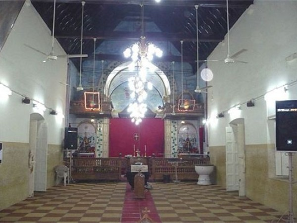 Adoor photos, St. Mary's Orthodox Syrian Cathedral - Inside View