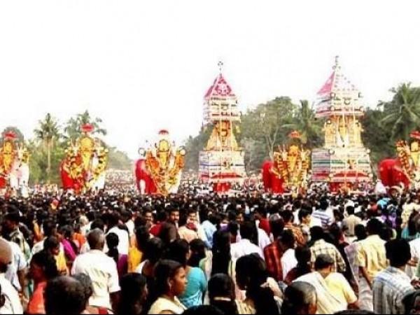 Adoor photos, Trichende Mangalam Mahadeva Temple - Kettukazha