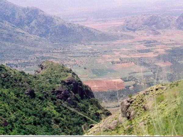 Idukki photos, Ramakkalmedu - A View of Tamilnadu