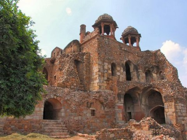 Delhi photos, Old Fort - A Historic Structure