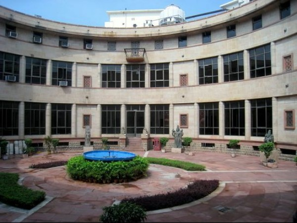 Delhi photos, National Museum - Courtyard