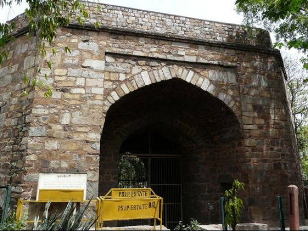 Delhi photos, Khooni Darwaza - A Rear View