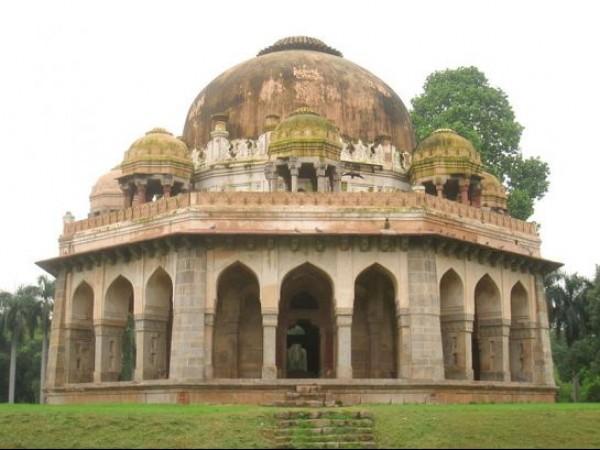 Delhi photos, Lodhi Garden - Mohammed Shah's Tomb