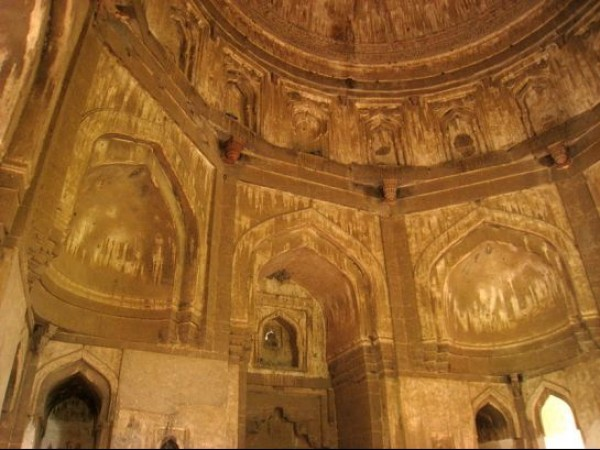 Delhi photos, Lodhi Garden - Sheesh Gumbad Interiors