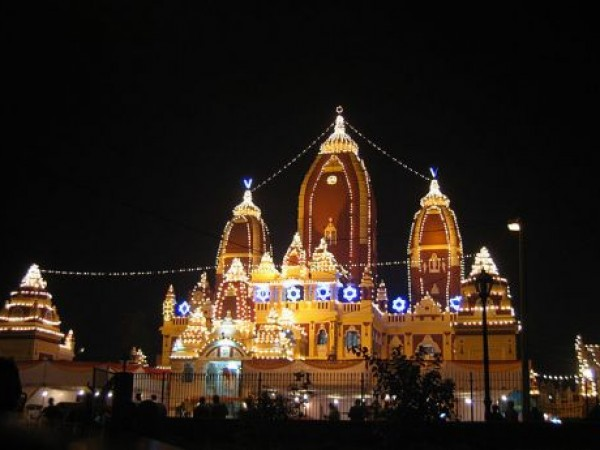 Delhi photos, Birla Mandir - Night View