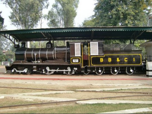 Delhi photos, National Railway Museum - Steam Locomotive