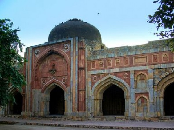 Delhi photos, Mehrauli Archaeological Park - Jamali Kamali Masjid