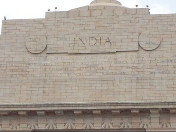 Delhi photos, India Gate - Upper View