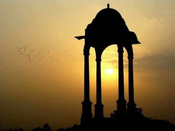 Delhi photos, India Gate - The canopy