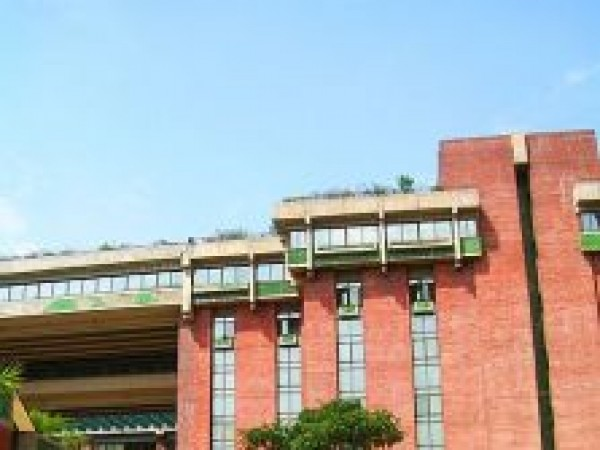Delhi photos, India Habitat Centre - An exterior view