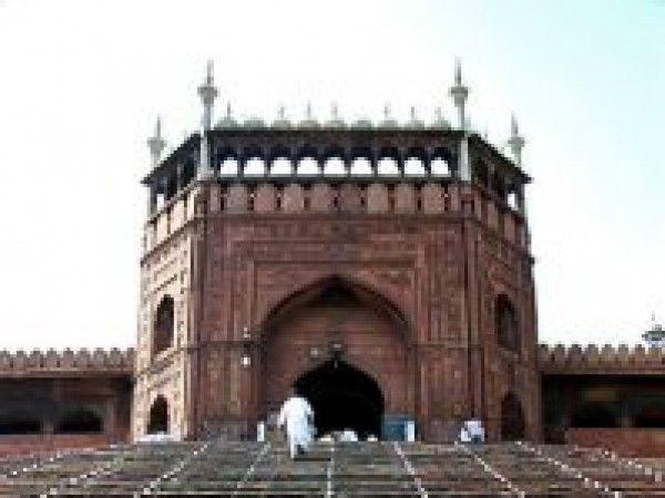 Delhi photos, Jama Masjid - Array of steps