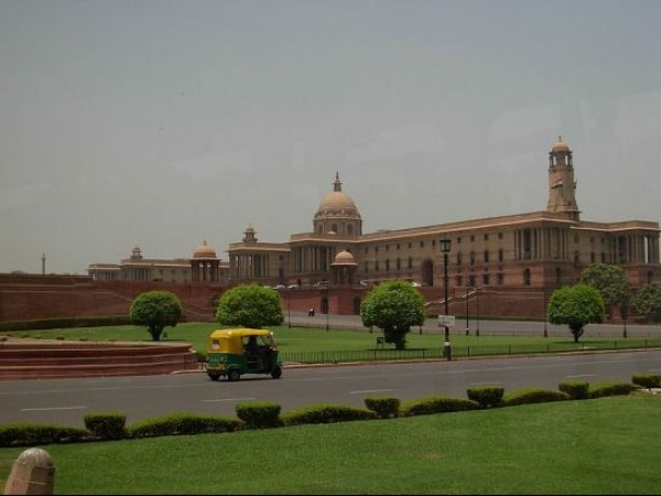 Delhi photos, Rashtrapati Bhavan - Residence of the President of India