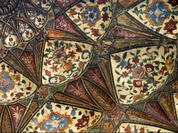 Delhi photos, Safdarjang Tomb - Artistic Ceiling
