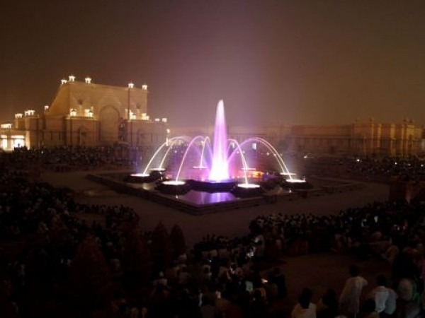 Delhi photos, Swaminarayan Akshardham Temple - Musical Fountain