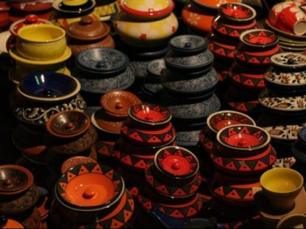 Delhi photos, Dilli Haat - Pottery