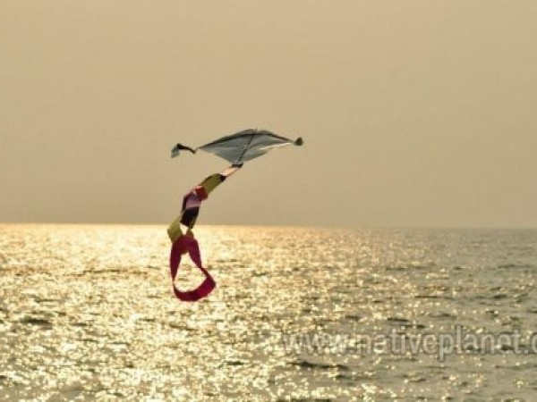 Kochi photos, Cherai Beach - Kite