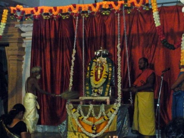 Mantralayam photos, Sree Guru Raghavendra Swami Temple - Religious ritual