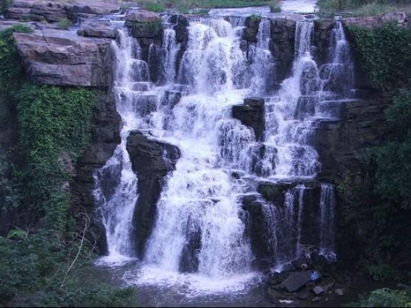 Nagarjuna Sagar photos, Ethipothala Waterfalls - Waterfall