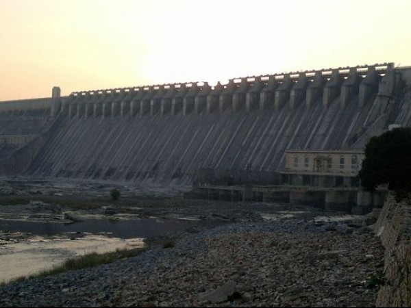 Nagarjuna Sagar photos, Nagarjunasagar Dam - A view