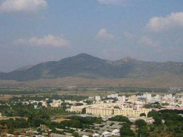 Puttaparthi photos, Prasanthi Nilayam - Panorama