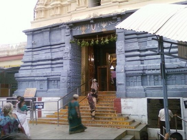 Bhadrachalam photos, Bhadrachala Rama Temple - Entrance of the temple