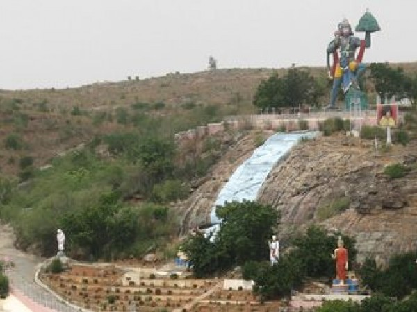 Puttaparthi photos, Prasanthi Nilayam - The Hill