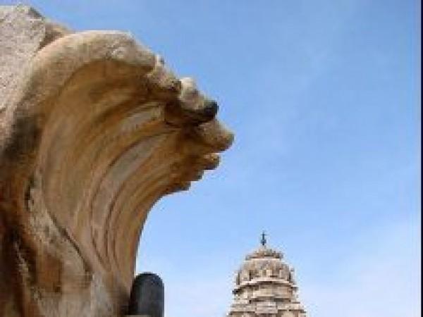Lepakshi photos, Veerabhadra temple - Lingam