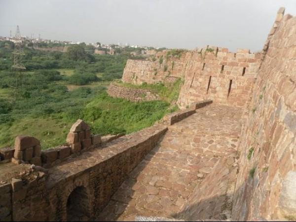 Adilabad photos, Adilabad fort - Walls of the fort