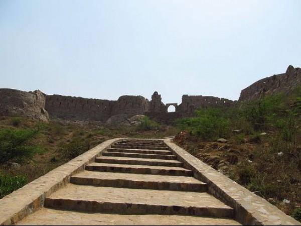 Adilabad photos, Adilabad fort - Stairs