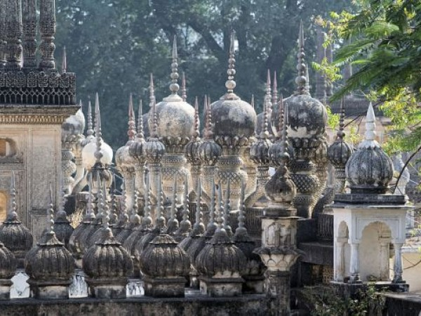 Hyderabad photos, Paigah Tombs - Roof of the tomb