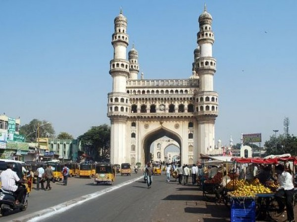 Hyderabad photos, Charminar - Seen on a bright sunny day