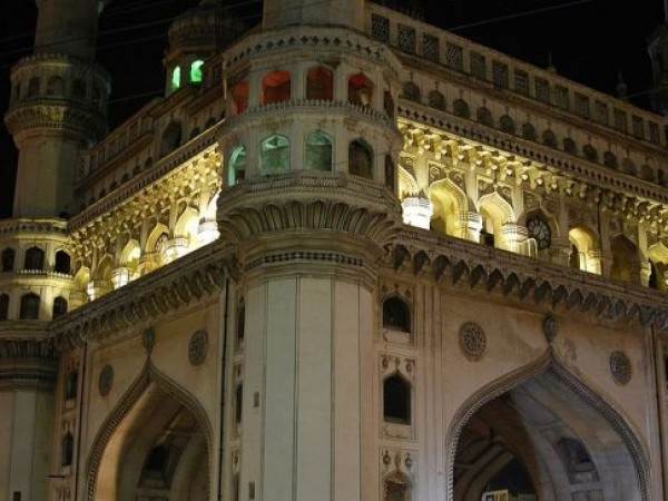 Hyderabad photos, Charminar  - Vibrant look