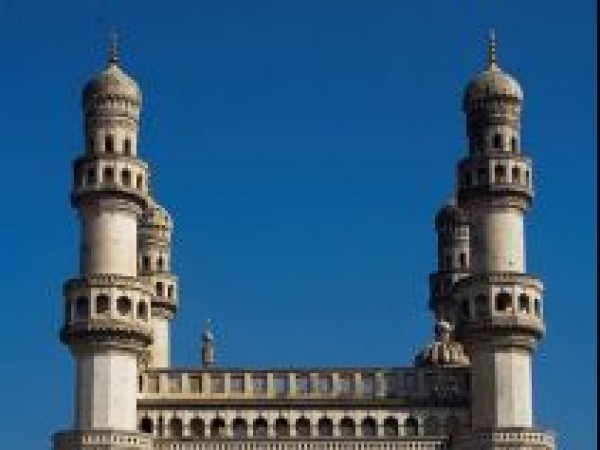 Hyderabad photos, Charminar - A Front view