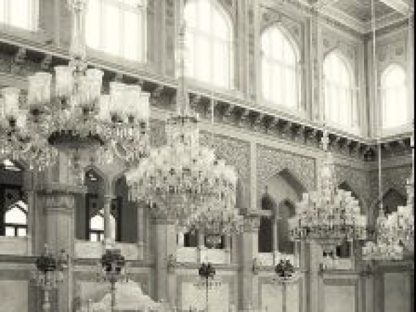 Hyderabad photos, Chow Mohalla Palace - View of the hall