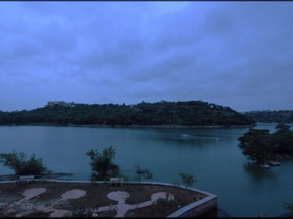 Hyderabad photos, Durgam Cheruvu - Early morning view