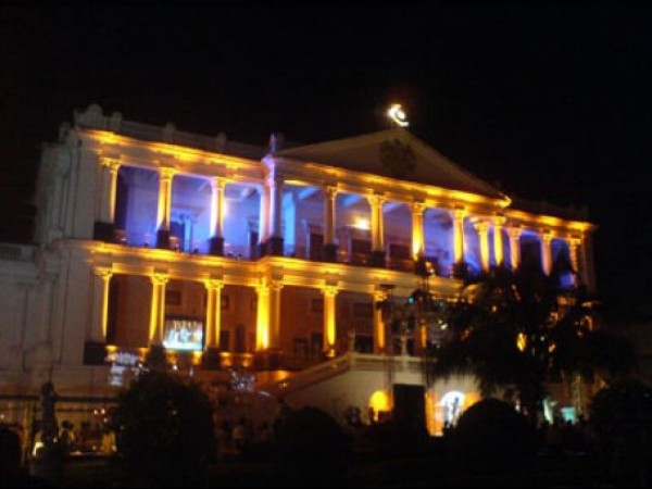 Hyderabad photos, Falaknuma Palace - vibrant lit