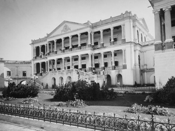 Hyderabad photos, Falaknuma Palace - A Old pic