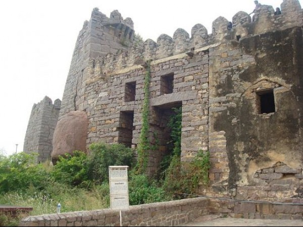 Hyderabad photos, Golconda Fort - A closer view