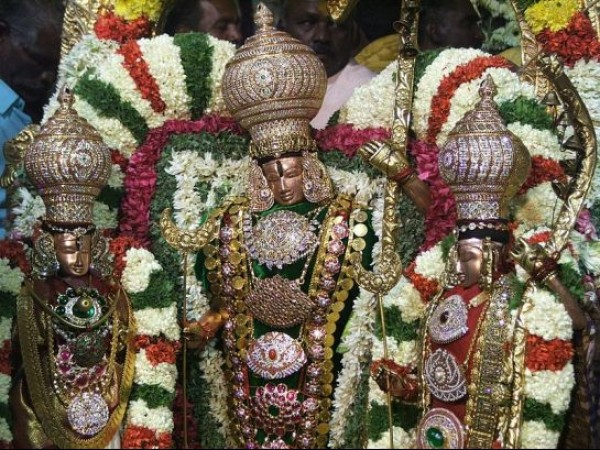 திருப்பதி புகைப்படங்கள் - திருமலா வெங்கடேஸ்வரர் கோயில் - இராமர் விக்ரகம்